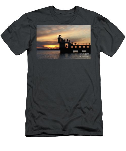 After Sunset Blackrock 5 Men's T-Shirt (Athletic Fit)
