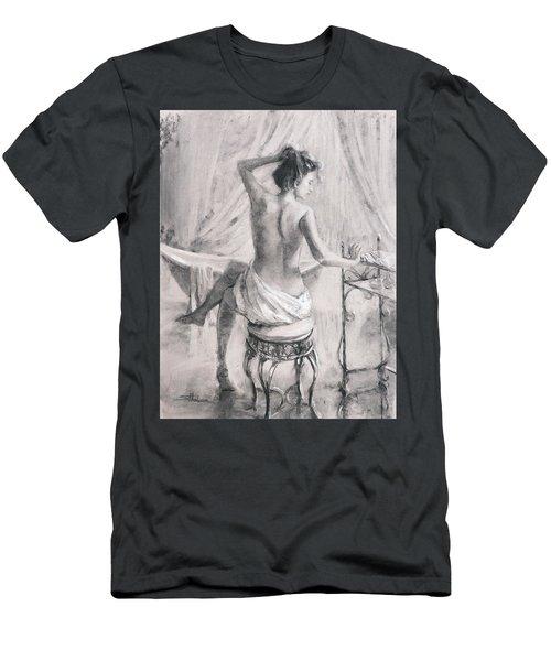After The Bath Men's T-Shirt (Athletic Fit)