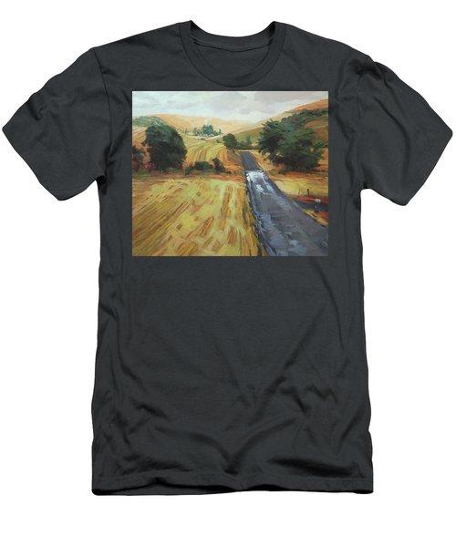 After The Harvest Rain Men's T-Shirt (Athletic Fit)