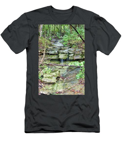 Men's T-Shirt (Slim Fit) featuring the photograph After The Rain by Cricket Hackmann