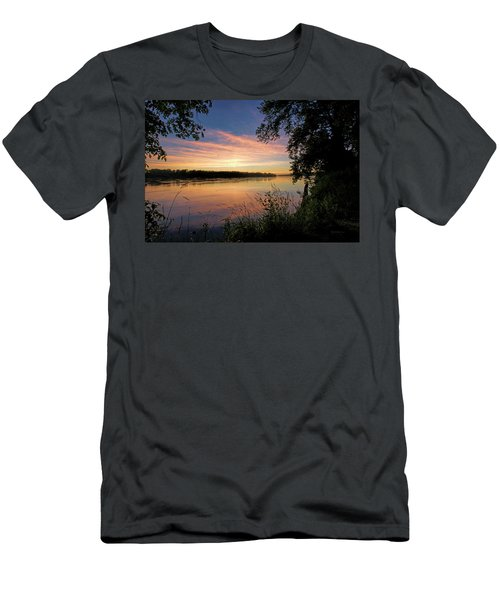 Men's T-Shirt (Slim Fit) featuring the photograph Afterglow by Cricket Hackmann