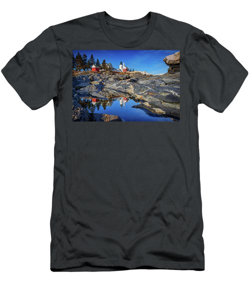 Afternoon At Pemaquid Point Men's T-Shirt (Athletic Fit)