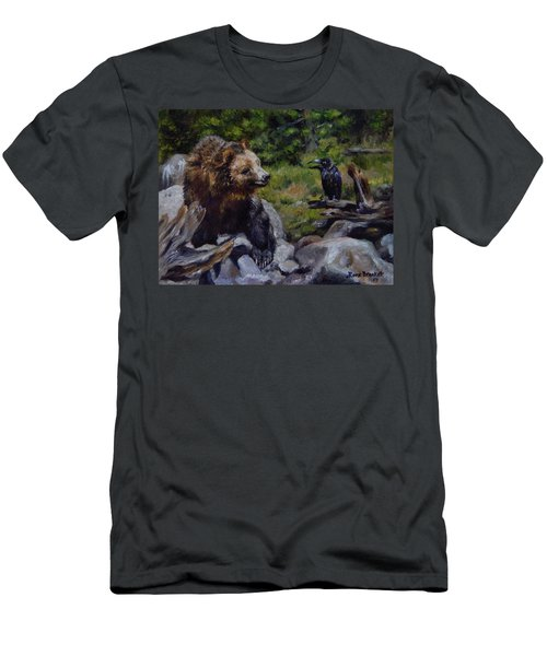 Afternoon Neigh-bear Men's T-Shirt (Athletic Fit)