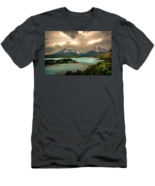 Men's T-Shirt (Slim Fit) featuring the photograph Afternoon Storm by Andrew Matwijec
