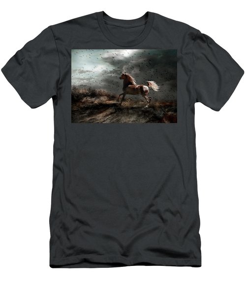 Men's T-Shirt (Slim Fit) featuring the photograph Against All Odds by Dorota Kudyba