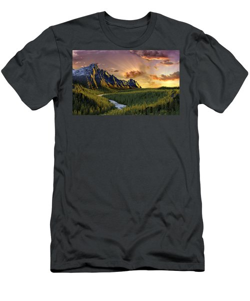 Against The Twilight Sky Men's T-Shirt (Athletic Fit)