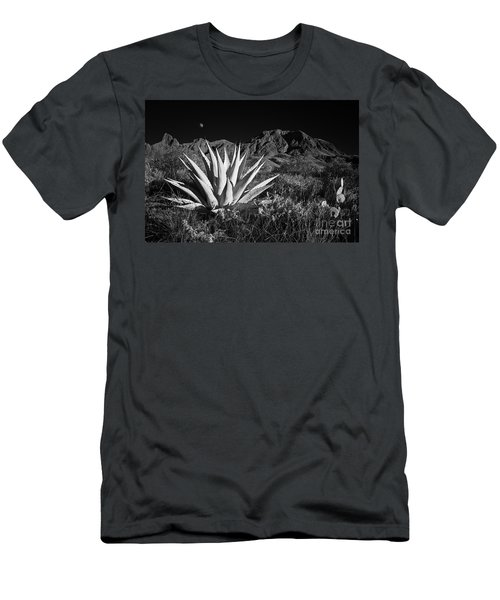 Agave And Moonrise Men's T-Shirt (Athletic Fit)