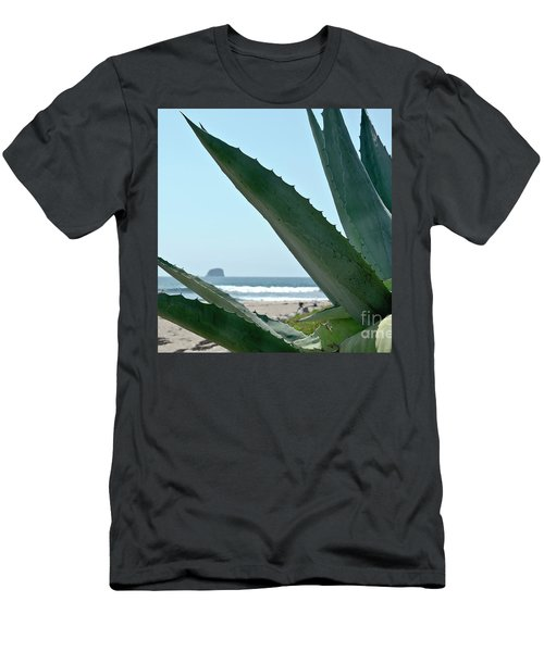 Agave Ocean Sky Men's T-Shirt (Slim Fit) by Yurix Sardinelly