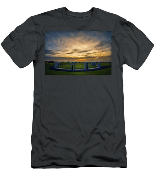 Aggie Bonfire Memorial Men's T-Shirt (Athletic Fit)