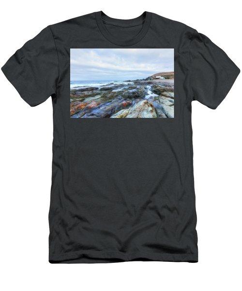 Aguas Verdes - Fuerteventura Men's T-Shirt (Athletic Fit)