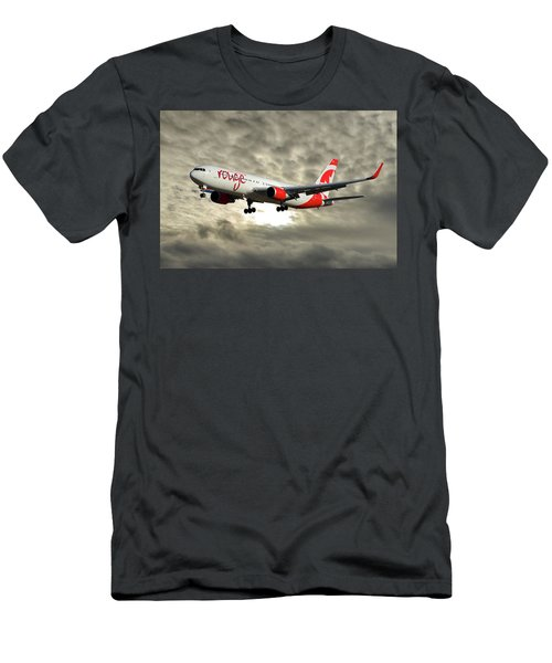 Air Canada Rouge Boeing 767-333 115 Men's T-Shirt (Athletic Fit)