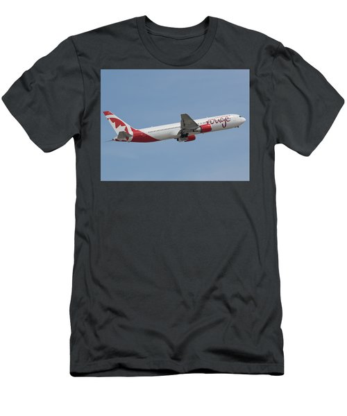 Air Canada Rouge Men's T-Shirt (Athletic Fit)