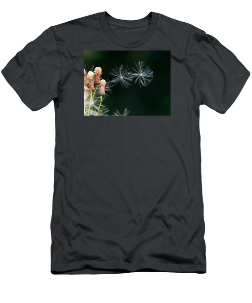 Men's T-Shirt (Slim Fit) featuring the photograph Air Dance by Leif Sohlman