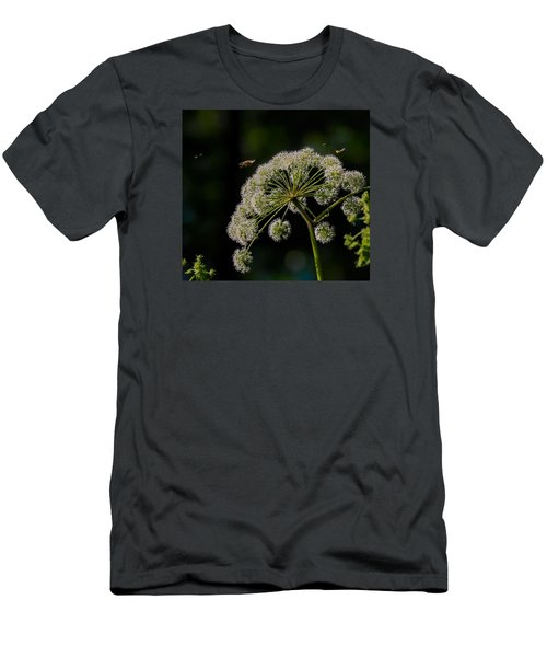 Men's T-Shirt (Slim Fit) featuring the photograph Airport by Leif Sohlman