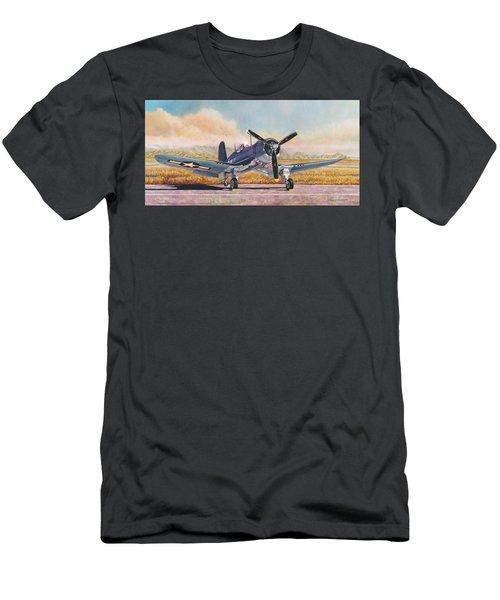 Airshow Corsair Men's T-Shirt (Athletic Fit)