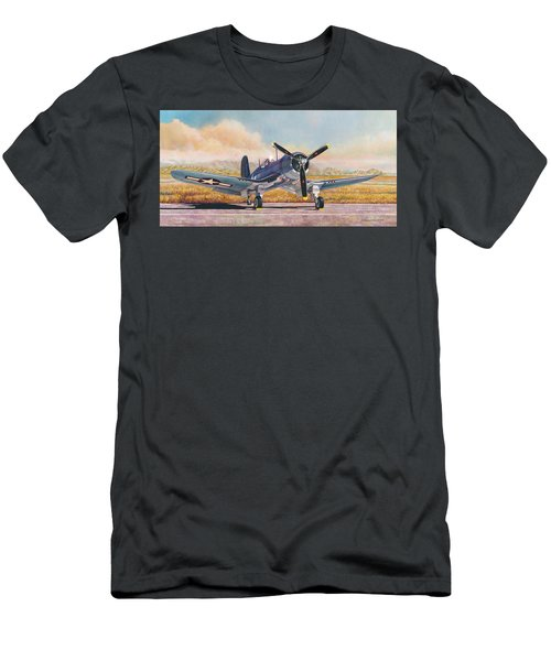 Airshow Corsair Men's T-Shirt (Athletic Fit)