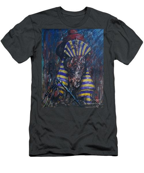 Men's T-Shirt (Athletic Fit) featuring the painting Akhenaten Has Risen by Reed Novotny
