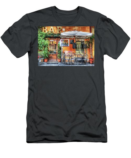 Men's T-Shirt (Athletic Fit) featuring the photograph Al Fresco Dining by Bellesouth Studio