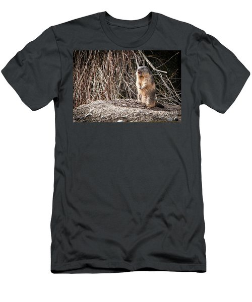 Men's T-Shirt (Athletic Fit) featuring the photograph Alan,alan, Alan, Alan by John Wadleigh