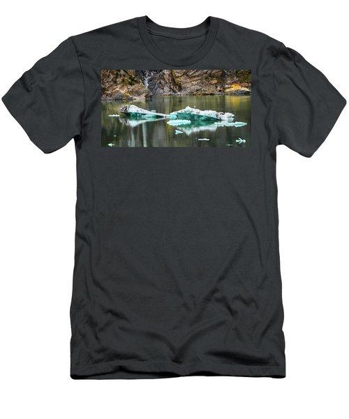 Alaskan Icebergs Men's T-Shirt (Athletic Fit)