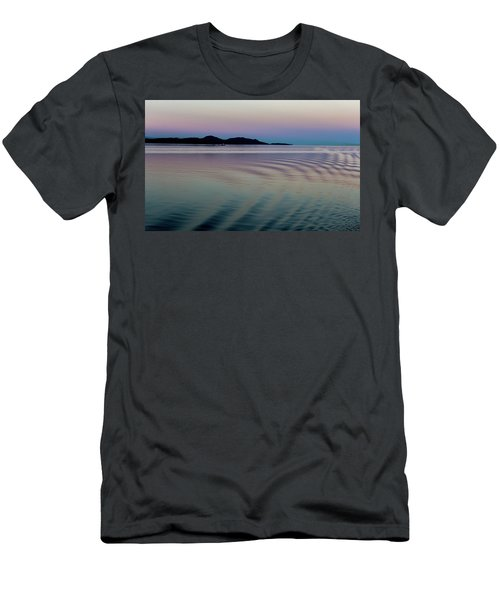 Alaskan Sunset At Sea Men's T-Shirt (Athletic Fit)