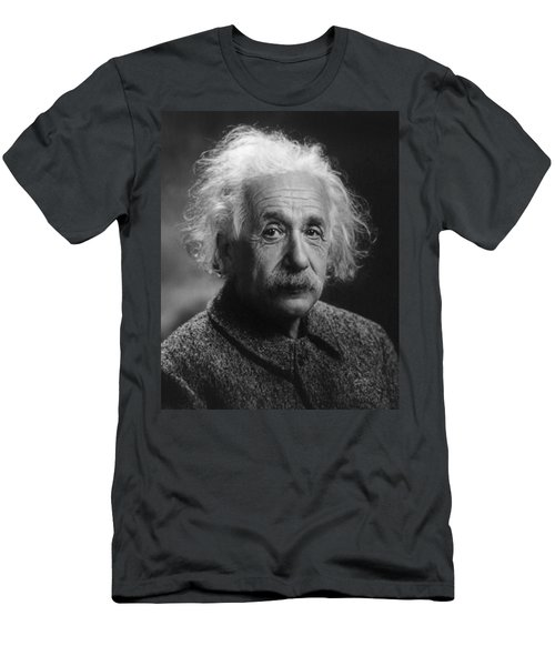 Albert Einstein, 1947. Age 68. Men's T-Shirt (Athletic Fit)
