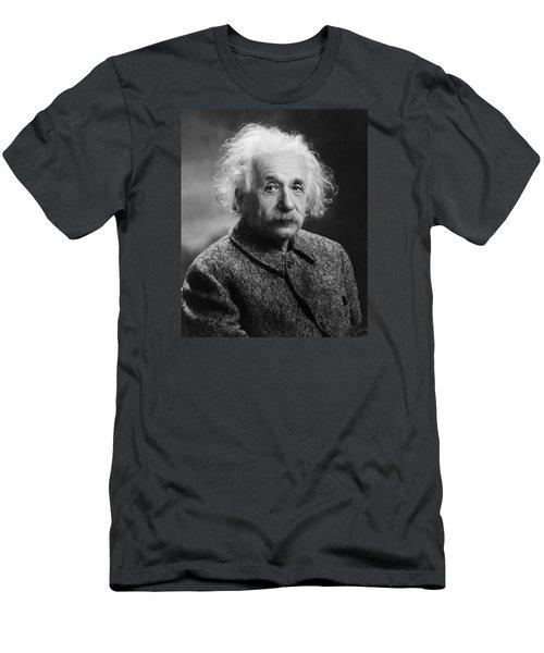 Albert Einstein Men's T-Shirt (Slim Fit) by Oren Jack Turner