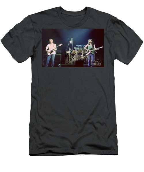 Alex Geddy And Neil Men's T-Shirt (Athletic Fit)
