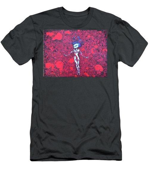 Alien Beauty Men's T-Shirt (Athletic Fit)