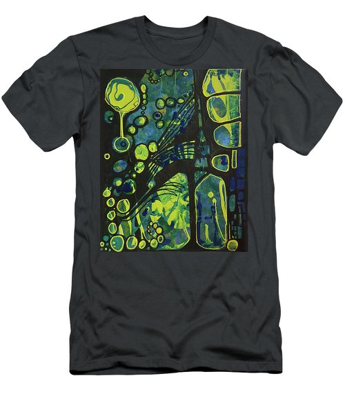 Alien Blue #2 Men's T-Shirt (Athletic Fit)