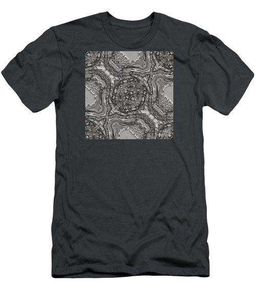 Alien Building Materials Men's T-Shirt (Slim Fit) by Craig Walters