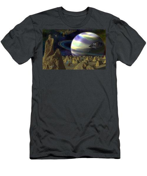 Alien Repose Men's T-Shirt (Athletic Fit)