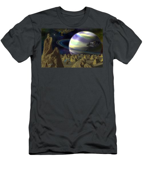 Alien Repose Men's T-Shirt (Athletic Fit)