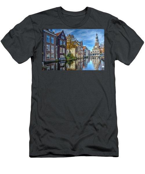 Alkmaar From The Bridge Men's T-Shirt (Slim Fit) by Frans Blok