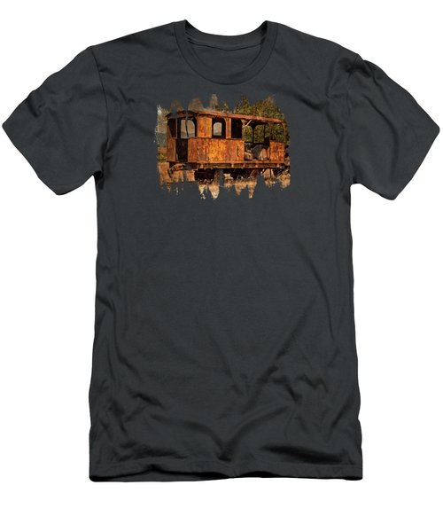 All Aboard To Nowhere Men's T-Shirt (Athletic Fit)
