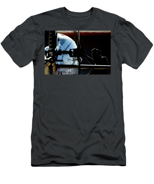 Men's T-Shirt (Athletic Fit) featuring the photograph All Ready by Paul Job