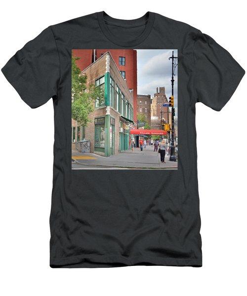 All That Jazz - Greenwich Village Vangaurd  Men's T-Shirt (Slim Fit) by Jeffrey Friedkin