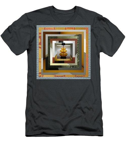 Alladin's Lamp Men's T-Shirt (Slim Fit) by Paul Moss