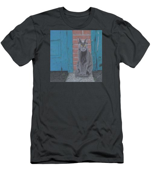 Alley Cat Men's T-Shirt (Athletic Fit)