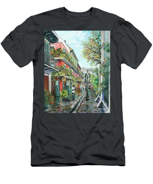 Alley Jazz Men's T-Shirt (Athletic Fit)