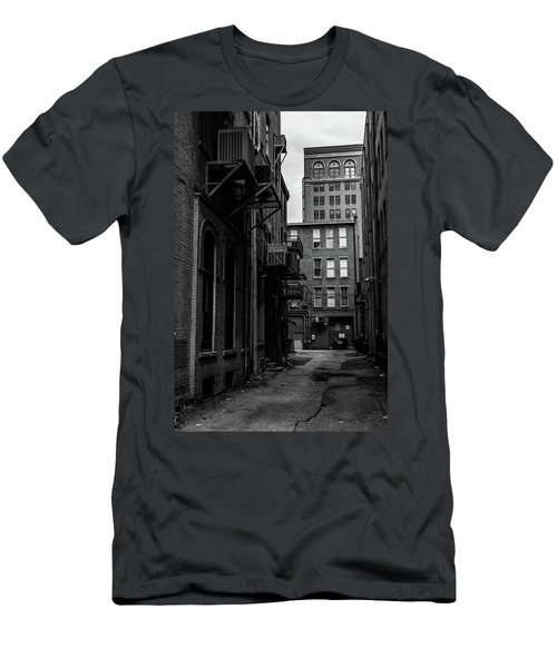 Men's T-Shirt (Athletic Fit) featuring the photograph Alleyway I by Break The Silhouette