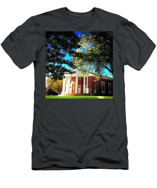 Alma College Dunning Memorial Chapel Men's T-Shirt (Athletic Fit)