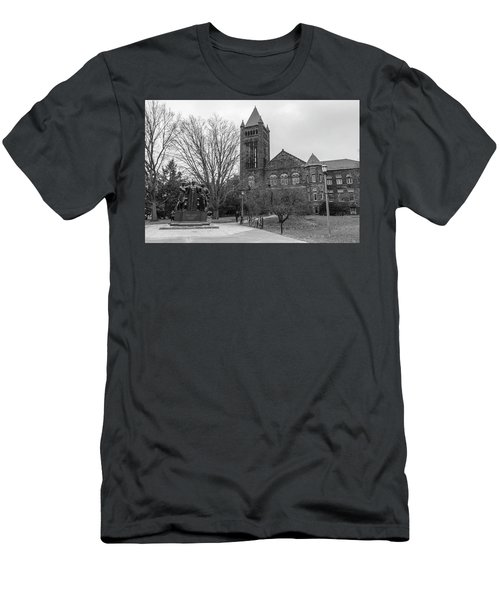 Alma Mater And Law Library University Of Illinois  Men's T-Shirt (Athletic Fit)