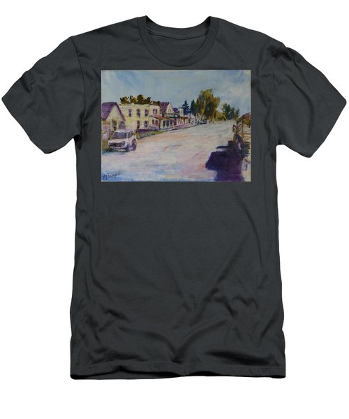 Almont  Men's T-Shirt (Slim Fit) by Helen Campbell