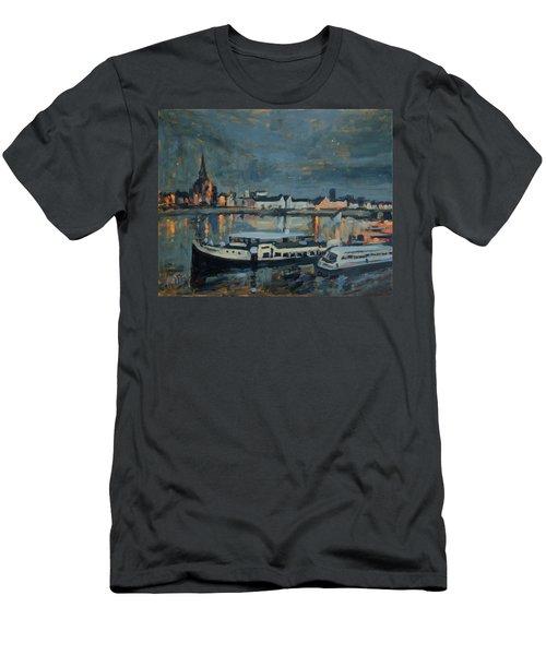 Almost Christmas In Maastricht Men's T-Shirt (Slim Fit) by Nop Briex