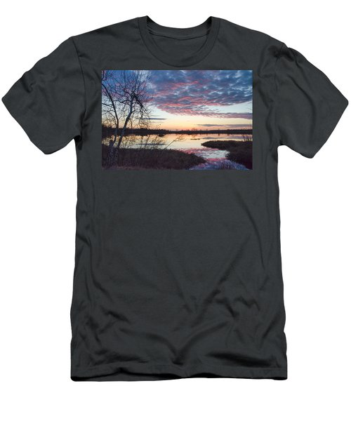 Almost Spring Sunset Men's T-Shirt (Athletic Fit)
