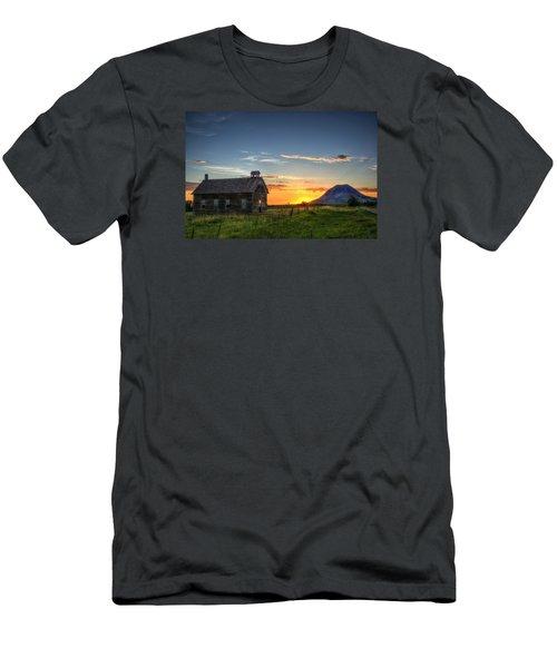 Almost Sunrise Men's T-Shirt (Slim Fit) by Fiskr Larsen