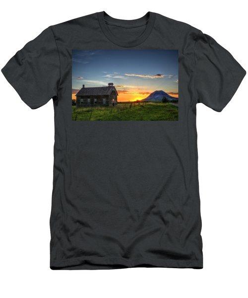 Almost Sunrise Men's T-Shirt (Athletic Fit)