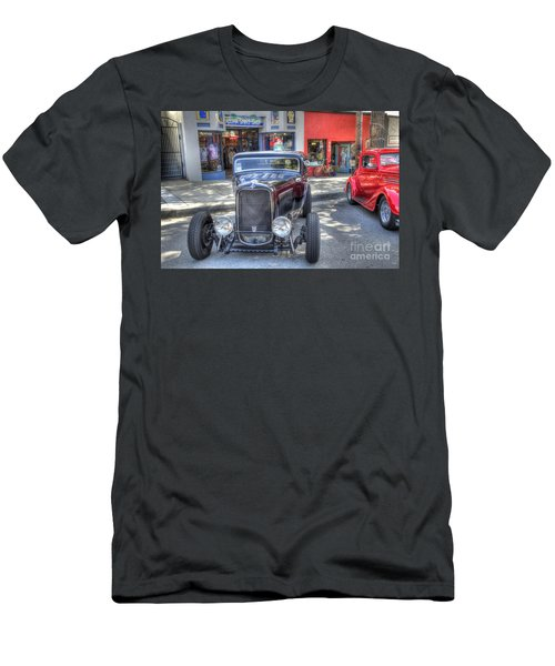 Aloha Cars And Pinups Men's T-Shirt (Athletic Fit)