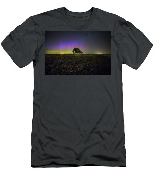 Men's T-Shirt (Slim Fit) featuring the photograph Alone by Aaron J Groen